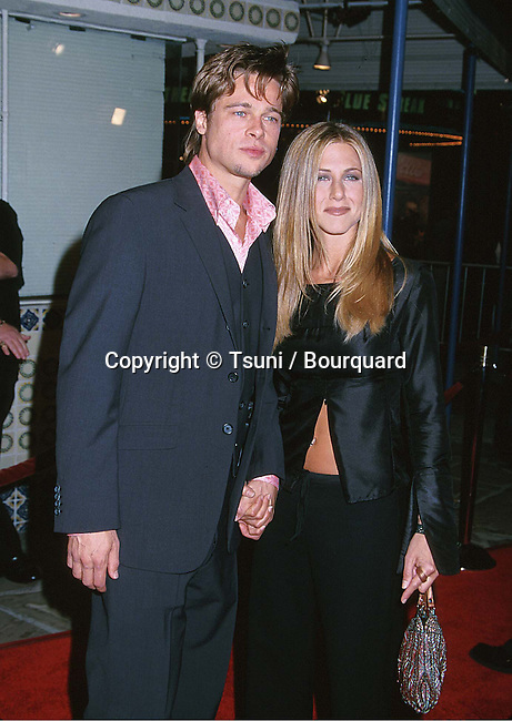Pitt Brad & Aniston Jennifer