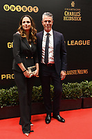 20190116 – PUURS ,  BELGIUM : Michael Verschueren (R) pictured during the  65nd men edition of the Golden Shoe award ceremony and 3th Women's edition, Wednesday 16 January 2019, in Puurs Studio 100 Pop Up Studio. The Golden Shoe (Gouden Schoen / Soulier d'Or) is an award for the best soccer player of the Belgian Jupiler Pro League championship during the year 2018. The female edition is the thirth one in Belgium.  PHOTO DIRK VUYLSTEKE | Sportpix.be