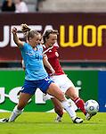 Manoe Meulen, Maiken Pape, Women's EURO 2009 in Finland.Denmark-Netherlands, 08292009, Lahti Stadium