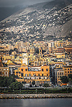 Morning light on Palermo, Sicily, Italy