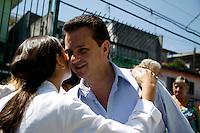 SAO PAULO, SP, 28 DE FEVEREIRO 2012 - INAUGURACAO AMA - GILBERTO KASSAB - O prefeito de Sao Paulo Gilberto Kassab durante inauguracao  AMA - Assistência Médica Ambulatorial Especialidades Jardim Guairaca na regiao leste da capital paulista, nesta terça-feira. FOTO: WILLIAM VOLCOV / BRAZIL PHOTO PRESS.