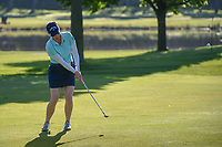 Morgan Pressel (USA) chips on to 2 during round 1 of the 2018 KPMG Women's PGA Championship, Kemper Lakes Golf Club, at Kildeer, Illinois, USA. 6/28/2018.<br /> Picture: Golffile | Ken Murray<br /> <br /> All photo usage must carry mandatory copyright credit (&copy; Golffile | Ken Murray)