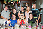 Staff from St John of Gods, Monavalley, Tralee dined in the Imperial hotel, Tralee last Friday night for their annual Christmas party (seated) l-r: Lucy Blackett-Godley, Sophie Casey and Emma Walsh. Back l-r: Dominic Kiely, Mary O'Donnell, Angie Kissane, Siobhan Breen and Brendan Brosnan.
