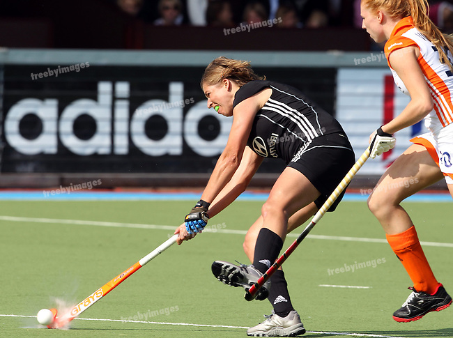 Womens Champions Trophy, Amsterdam 2011.26062011 Day 2 Netherlands v germany..Credit: Grant Treeby.Editorial use only(No Archiving)