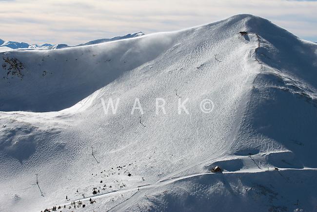 Breckenridge Ski Area. Peak 8. Imperial Lift. Lake Chutes. March 2014