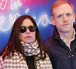 "Maura Tierney and Scott Shepherd attends the Broadway Opening Night Arrivals for ""Angels In America"" - Part One and Part Two at the Neil Simon Theatre on March 25, 2018 in New York City."