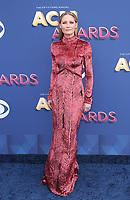 15 April 2018 - Las Vegas, NV - Jennifer Nettles.  2018 ACM Awards arrivals at MGM Grand Garden Arena. <br /> CAP/ADM/MJT<br /> &copy; MJT/ADM/Capital Pictures
