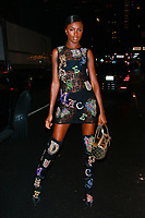 NEW YORK, NY - FEBRUARY 7: Leomie Anderson  seen on February 7, 2019 in New York City. <br /> CAP/MPI/DC<br /> &copy;DC/MPI/Capital Pictures
