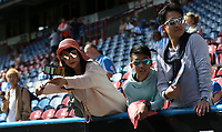 A Huddersfield Town fan takes a selfie<br /> <br /> Photographer Stephen White/CameraSport<br /> <br /> The Premier League - Huddersfield Town v Chelsea - Saturday August 11th 2018 - The John Smith&rsquo;s Stadium<br />  - Huddersfield<br /> <br /> World Copyright &copy; 2018 CameraSport. All rights reserved. 43 Linden Ave. Countesthorpe. Leicester. England. LE8 5PG - Tel: +44 (0) 116 277 4147 - admin@camerasport.com - www.camerasport.com