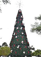 SÃO PAULO,SP - 26.11.2015 - NATAL-IBIRAPUERA - Vista da tradicional Árvore de Natal de São Paulo, localizada às margens do Parque Ibirapuera, na tarde dessa quinta-feira,26. (Foto: Eduardo Carmim/Brazil Photo Press)