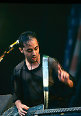 SYSTEM OF A DOWN - gutiarist Daron Malakian - performing live at the Reading Festival in Reading UK - 26 Aug 2001.  Photo credit: PG Brunelli/IconicPix