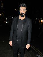 Ray Panthaki at the BAFTA Breakthrough Brits showcase &amp; reception, 194 Piccadilly, St. James's, London, England, UK, on Wednesday 07 November 2018.<br /> CAP/CAN<br /> &copy;CAN/Capital Pictures