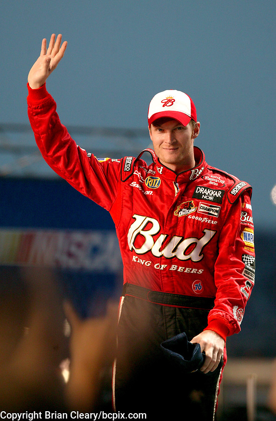 Dale Earnhardt Jr., UAW-GM Quality 500, Charlotte Motor Speedway, Charlotte, NC, October 11, 2003.  (Photo by Brian Cleary/bcpix.com)