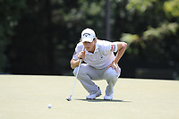 Emiliano Grillo (ARG) on the 13th green during Thursday's Round 1 of the 2017 PGA Championship held at Quail Hollow Golf Club, Charlotte, North Carolina, USA. 10th August 2017.<br /> Picture: Eoin Clarke | Golffile<br /> <br /> <br /> All photos usage must carry mandatory copyright credit (&copy; Golffile | Eoin Clarke)