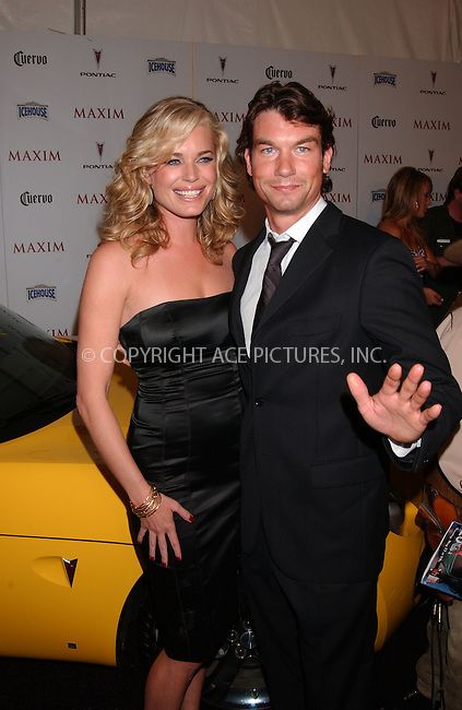 WWW.ACEPIXS.COM . . . . .....May 16, 2007. New York City,....Actress Rebecca Romijn and actor Jerry O'Connell attend Maxim's 8th Annual Hot 100 Party held at the Gansevoort Hotel...  ....Please byline: Kristin Callahan - ACEPIXS.COM..... *** ***..Ace Pictures, Inc:  ..Philip Vaughan (646) 769 0430..e-mail: info@acepixs.com..web: http://www.acepixs.com