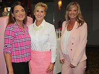 NWA Democrat-Gazette/CARIN SCHOPPMEYER Tiffany Lowe (from left), Carol Johnston and Vivyan Gerrard help support Komen Ozark.