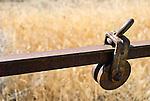 Old gate hardware, central Oregon