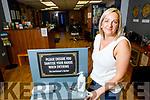 Sharon Lawson at her Gentlemans Barber shop in Listowel on Friday.