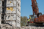 Demolition of  Gloucester House, South Kilburn Estate, London Borough of Brent.