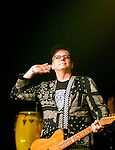 Cheap Trick Rick Nielsen at Alice Cooper's Christmas Pudding show for his Solid Rock Foundation Charity at Dodge Theatre in Phoenix, Arizona, December 18th 2004. Photo by Chris Walter/Photofeatures.