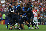 15/07/2018, Luzhniki stadium, Moscow, Russia; FIFA World Cup Russia 2018, Final Football Match France versus Croatia, France is the new World Champion. France won the World Cup for the second time 4-2 against Croatia. French players reacts