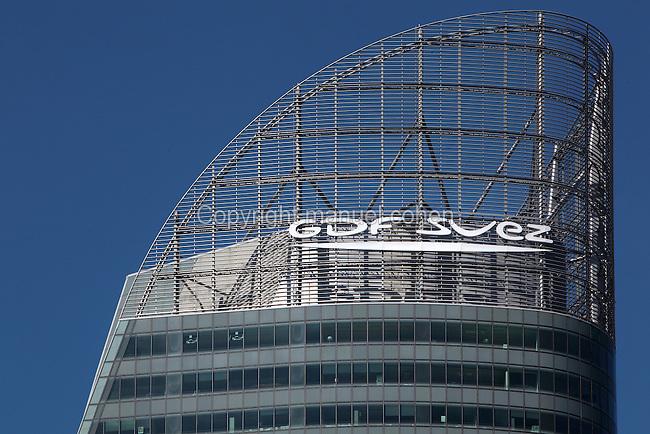 GDF SUEZ building, 2008, Valode and Pistre Architectes, La Defense, Paris, France. Picture by Manuel Cohen