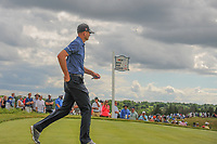Brendan Steele (USA) departs the 7th tee during Sunday's round 4 of the 117th U.S. Open, at Erin Hills, Erin, Wisconsin. 6/18/2017.<br /> Picture: Golffile | Ken Murray<br /> <br /> <br /> All photo usage must carry mandatory copyright credit (&copy; Golffile | Ken Murray)