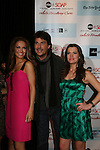 All My Children's Chrishell Stause - Ricky Paull Goldin - Melissa Claire Egan attend the after party of ABC and SOAPnet's Salutes to Broadway Cares/Equity Fights Aids on March 9, 2009 at the New York Marriott Marquis, New York, NY.  (Photo by Sue Coflin/Max Photos)