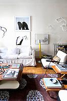 Mid century design furniture and artwork