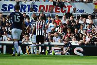 Ben Davies of Tottenham Hotspur celebrates scoring Tottenham Hotspur 's second goal during Newcastle United vs Tottenham Hotspur, Premier League Football at St. James' Park on 13th August 2017