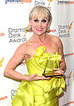 Tracey Bennett.in the winners press room at the 57th Annual Drama Desk Awards held at the The Town Hall in New York City, NY on June 3, 2012.