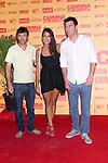 05.07.2012. Premier in Cine de Verano de La Bombilla of the film ´Carmina o Revienta´ with Paco León, Maria León and Carmina Barrios. (Alterphotos/Marta Gonzalez)