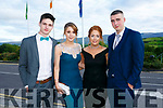Enjoying the Killarney secondary schools Debs at Ballyroe Heights Hotel on Monday were Daniel O'Connor, Louise Lanigan, Michelle O Sullivan and David Gleeson