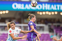 Orlando, FL - Saturday August 05, 2017: Maddy Evans during a regular season National Women's Soccer League (NWSL) match between the Orlando Pride and the Chicago Red Stars at Orlando City Stadium.