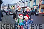 Christmas Shopping in Listowel were l-r  Brian Scanlon, Jennifer Scanlon, Darragh Brown and Robbie Scanlon