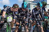 Picture by Alex Whitehead/SWpix.com - 09/09/2017 - Cycling - OVO Energy Tour of Britain - Stage 7, Hemel Hempstead to Cheltenham - Mark Cavendish, Michal Kwiatkowski, Owain Doull.