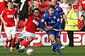 Florent Cuvelier of Walsall and Luke Freeman of Stevenage challenge. - Walsall v Stevenage - npower League 1 - Banks's Stadium, Walsall - 24th March, 2012  .© Kevin Coleman 2012