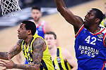 Turkish Airlines Euroleague.<br /> Final Four - Vitoria-Gasteiz 2019.<br /> Semifinals.<br /> Fenerbahce Beko Istanbul vs Anadolu Efes Istanbul: 73-92.<br /> Erick Green vs Bryant Dunston.