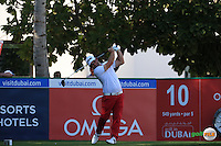 Andy Sullivan (ENG) during the Final Round of the 2016 Omega Dubai Desert Classic, played on the Emirates Golf Club, Dubai, United Arab Emirates.  07/02/2016. Picture: Golffile | David Lloyd<br /> <br /> All photos usage must carry mandatory copyright credit (&copy; Golffile | David Lloyd)