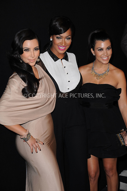 WWW.ACEPIXS.COM . . . . . .August 31, 2011...New York City...Kim Kardashian , LaLa Anthony and Kourtney Kardashian attend the Colin Cowie and Jason Binn welcome to NYC  party for Kim Kardashian and Kris Humphries  at Capitale on August 31, 2011 in New York City....Please byline: KRISTIN CALLAHAN - ACEPIXS.COM.. . . . . . ..Ace Pictures, Inc: ..tel: (212) 243 8787 or (646) 769 0430..e-mail: info@acepixs.com..web: http://www.acepixs.com .