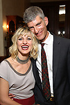 Anais Mitchell and her husband Noah Hahn during the DGf Salon with Anais Mitchell at the Kara Uterberg Residence on June 3, 2019  in New York City.