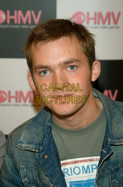 MATT LITTLER.hollyoaks.at HMV Music Store.sales@capitalpictures.com.www.capitalpictures.com.©Capital Pictures.headshot, portrait