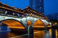 Anshun Bridge (Dongmen Bridge), Chengdu