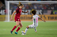 Carson, CA - Thursday August 03, 2017: Allie Long during a 2017 Tournament of Nations match between the women's national teams of the United States (USA) and Japan (JAP) at StubHub Center.