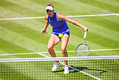 June 18th 2017, Edgbaston Priory Club; Tennis Tournament; Aegon Classic Birmingham; Sunday Qualifiers; Marketa Vondrousovs plays a drop shot against Aleksandrina Naydenova