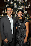 Sara and Jay Bhatty at the 27th annual Trees of Hope Holiday Gala at The Citadel on Kirby Friday Oct. 04,2016.(Dave Rossman photo)