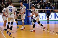 GRONINGEN - Volleybal, Lycurgus - Sliedrecht Sport, Eredivisie,  seizoen 2019-2020, 07-12-2019,  vreugde bij Lycurgus