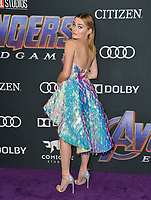 "LOS ANGELES, USA. April 22, 2019: Meg Donnelly at the world premiere of Marvel Studios' ""Avengers: Endgame"".<br /> Picture: Paul Smith/Featureflash"