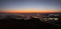 Dawn over Gaborone City, Botswana