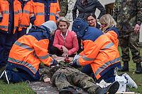 2016/11/17 Bundeswehr | medizinische Ausbildung für syrische Flüchtlinge